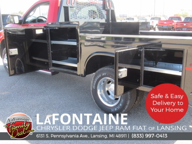 2018 Ram 3500 Regular Cab DRW 4x4,  Knapheide Platform Body #18L973 - photo 22