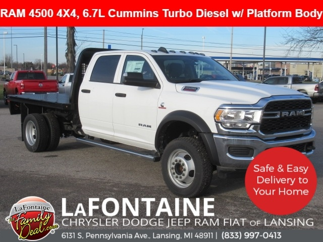 2019 Ram 4500 Crew Cab DRW 4x4, Knapheide Platform Body #19L2282 - photo 1