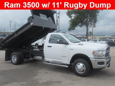 2019 Ram 3500, Auto Truck Group Dump Body