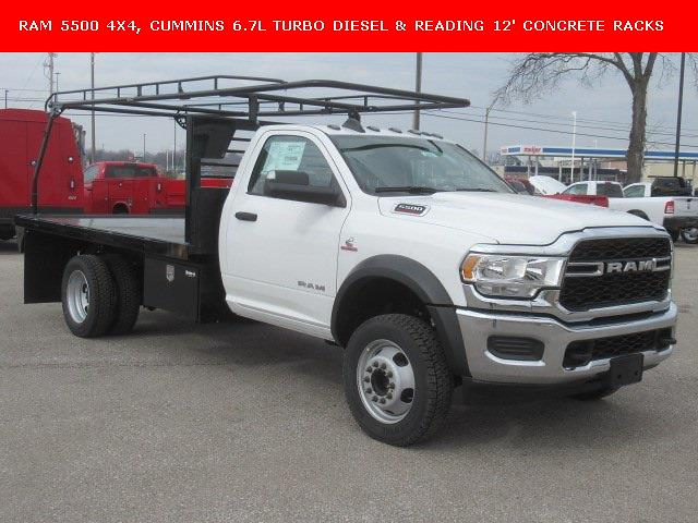 2019 Ram 5500 Regular Cab DRW 4x4, Norstar Platform Body #19LC2306 - photo 1