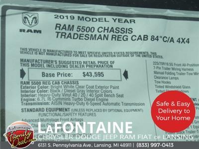 2019 Ram 5500 Regular Cab DRW 4x4,  Norstar SR Platform Body #19LC2306 - photo 22