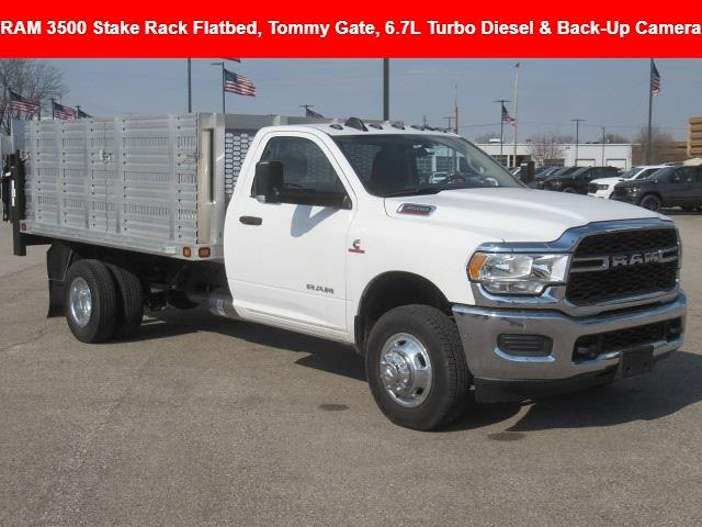 2019 Ram 3500 Regular Cab DRW 4x2, Knapheide Stake Bed #19LC2311 - photo 1