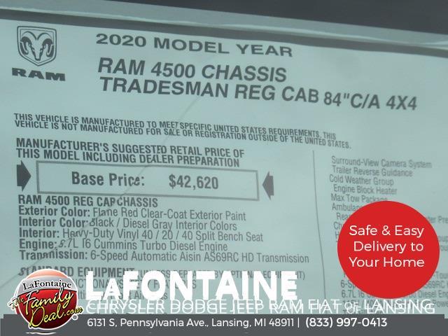 2020 Ram 4500 Regular Cab DRW 4x4,  Knapheide Steel Service Body #20LC1784 - photo 35