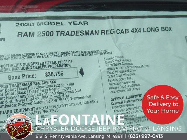 2020 Ram 2500 Regular Cab 4x4,  Knapheide Steel Service Body #20LC1861 - photo 24