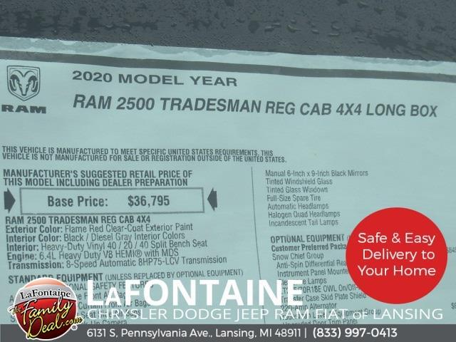 2020 Ram 2500 Regular Cab 4x4,  Knapheide Steel Service Body #20LC1862 - photo 14