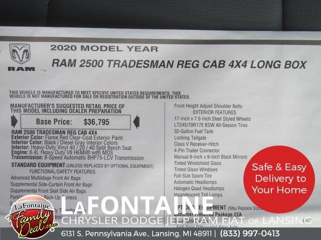 2020 Ram 2500 Regular Cab 4x4,  Knapheide Steel Service Body #20LC1871 - photo 20