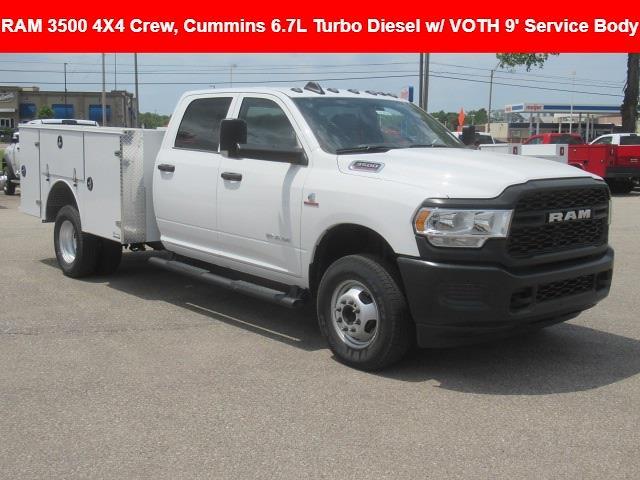 2021 Ram 3500 Crew Cab DRW 4x4, Voth Truck Bodies Service Body #21L0726 - photo 1