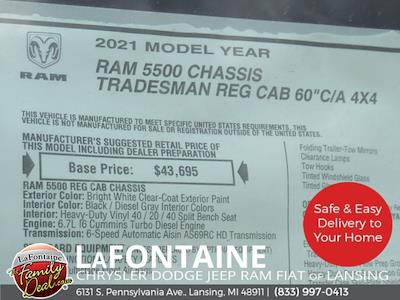 2021 Ram 5500 Regular Cab DRW 4x4,  Knapheide Steel Service Body #21LC0834 - photo 25