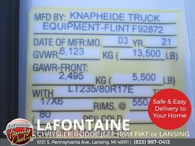 2021 Ram 3500 Regular Cab DRW 4x4,  Knapheide Steel Service Body #21LC0921 - photo 23