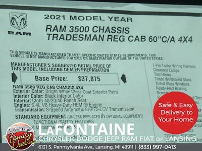 2021 Ram 3500 Regular Cab DRW 4x4,  Knapheide Steel Service Body #21LC0921 - photo 25
