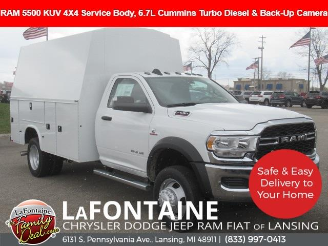 2021 Ram 5500 Regular Cab DRW 4x4, Knapheide Service Body #21LC0940 - photo 1