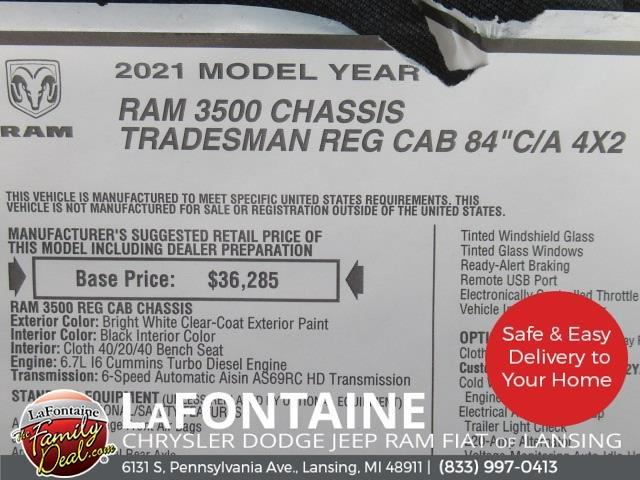 2021 Ram 3500 Regular Cab DRW 4x2,  Knapheide Heavy-Hauler Junior Platform Body #21LC1155 - photo 24