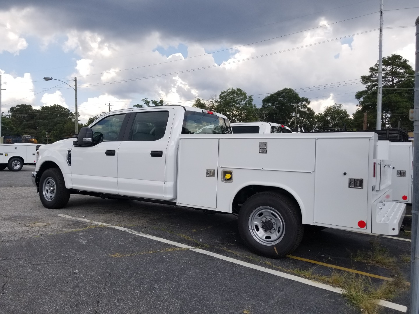 2018 F-250 Super Cab 4x2,  Reading Service Body #6175 - photo 2