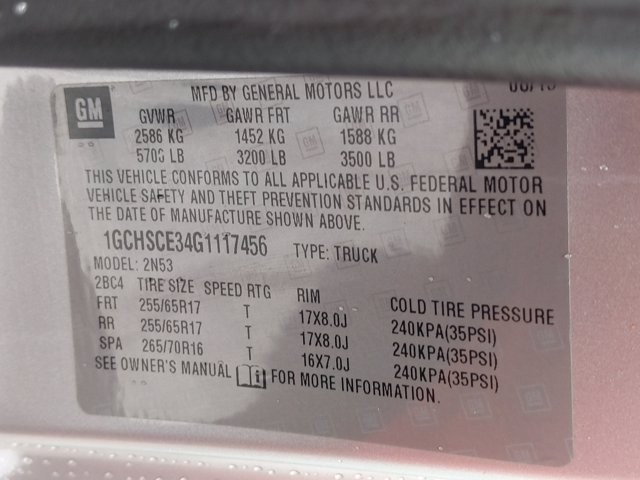 2016 Chevrolet Colorado Extended Cab 4x2, Pickup #G1117456 - photo 25