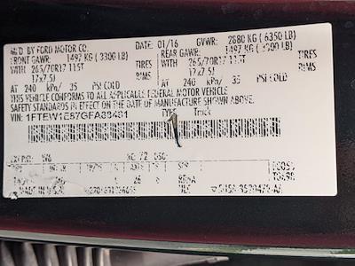 2016 Ford F-150 SuperCrew Cab 4x4, Pickup #GFA88481 - photo 24