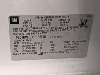 2017 Chevrolet Silverado 2500 Crew Cab 4x4, Pickup #HF102740 - photo 25