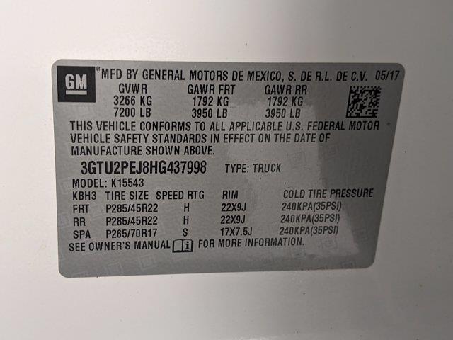 2017 GMC Sierra 1500 Crew Cab 4x4, Pickup #HG437998 - photo 26