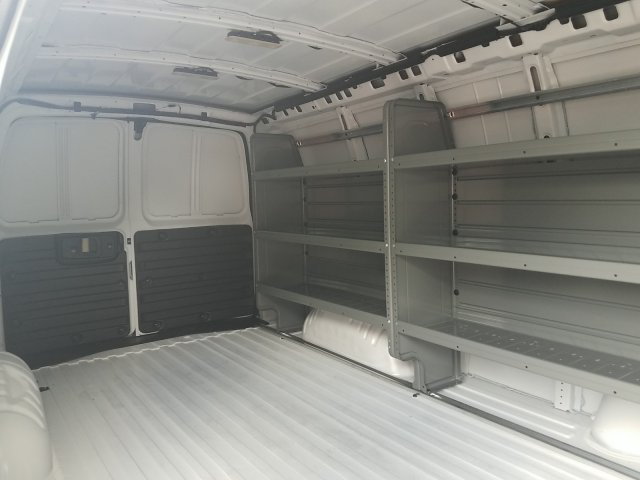 2018 Express 3500 4x2,  Adrian Steel Commercial Shelving Upfitted Cargo Van #J1288309 - photo 2