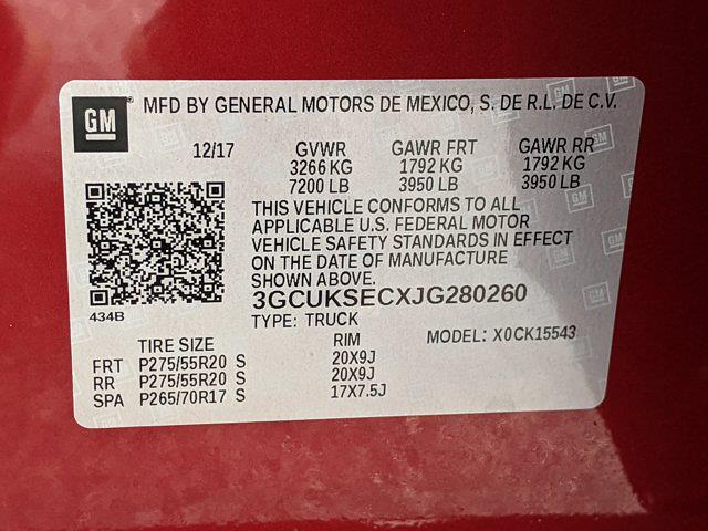 2018 Chevrolet Silverado 1500 Crew Cab 4x4, Pickup #JG280260 - photo 26