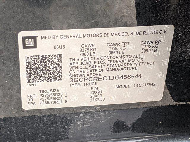 2018 Chevrolet Silverado 1500 Crew Cab 4x2, Pickup #JG458544 - photo 25