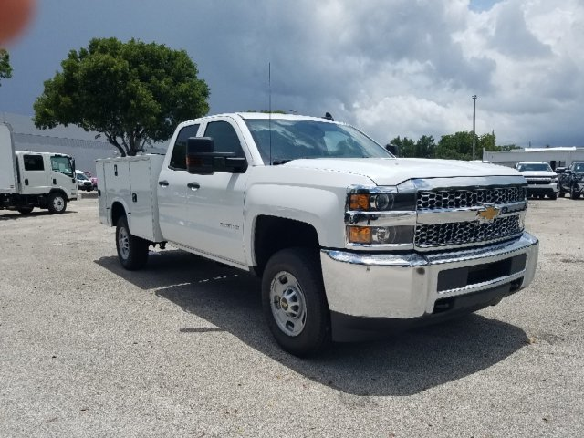 2019 Silverado 2500 Double Cab 4x2,  Knapheide Standard Service Body #K1187479 - photo 10
