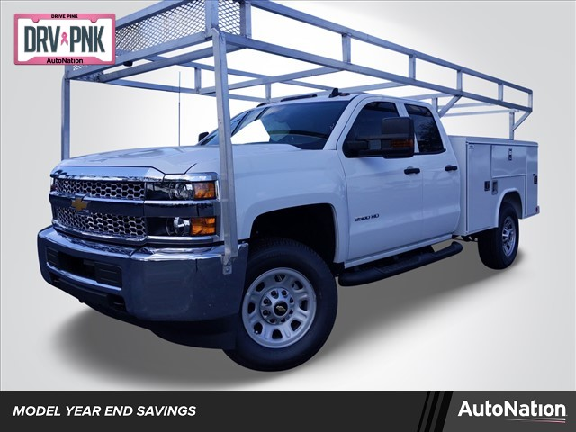 2019 Silverado 2500 Double Cab 4x2, Reading Service Body #K1226529 - photo 1