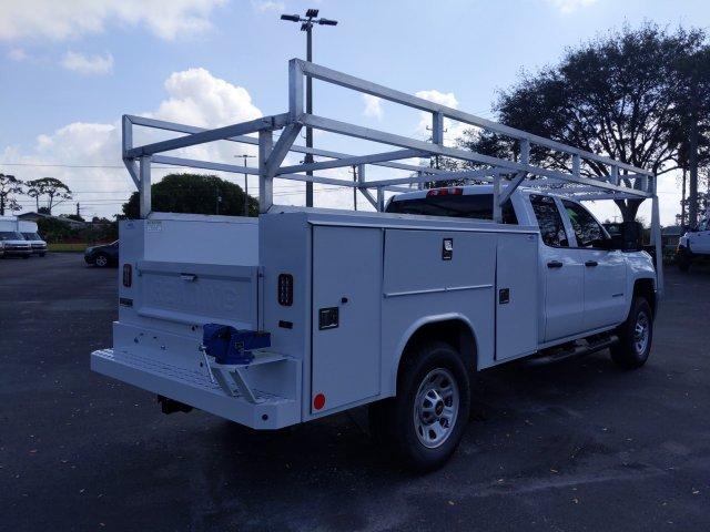 2019 Silverado 2500 Double Cab 4x2, Reading Service Body #K1226529 - photo 9
