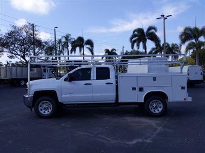 2019 Silverado 2500 Double Cab 4x2, Service Body #K1226529 - photo 12