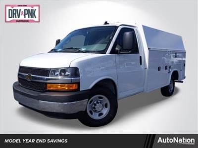 2019 Chevrolet Express 3500 4x2, Knapheide KUV Service Utility Van #K1238440 - photo 1