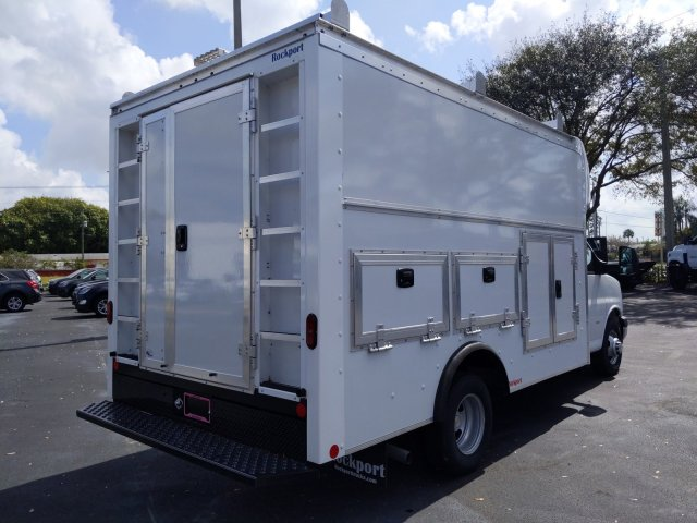 2019 Express 3500 4x2, Rockport Workport Service Utility Van #K1266557 - photo 3
