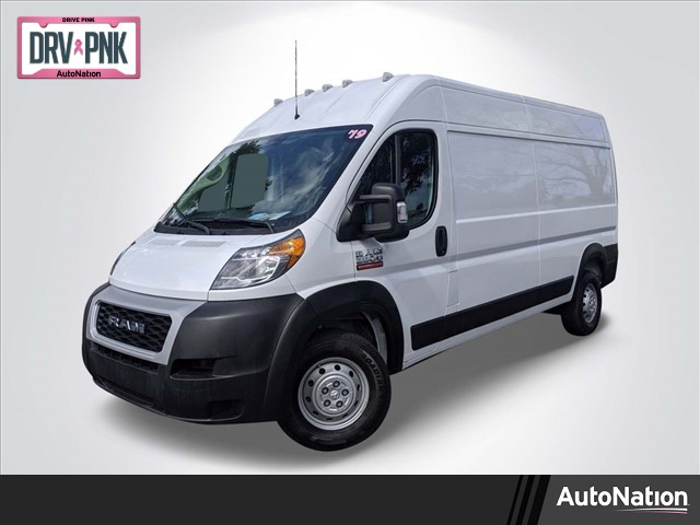 2019 ProMaster 2500 High Roof FWD, Empty Cargo Van #KE509626 - photo 1