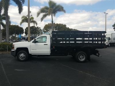 2019 Silverado 3500 Regular Cab DRW 4x2,  Knapheide Value-Master X Stake Bed #KF162367 - photo 3