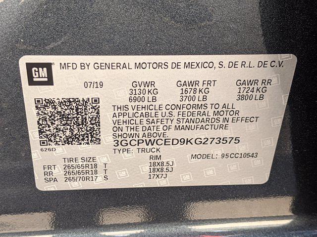 2019 Chevrolet Silverado 1500 Crew Cab 4x2, Pickup #KG273575 - photo 24