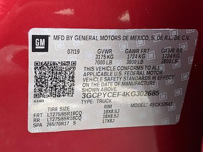 2019 Chevrolet Silverado 1500 Crew Cab 4x4, Pickup #KG302685 - photo 25