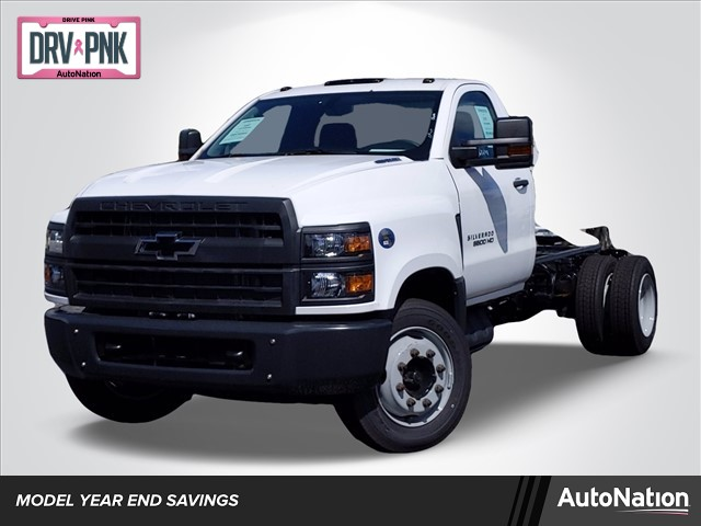2019 Silverado Medium Duty Regular Cab DRW 4x2, Cab Chassis #KH827898 - photo 1