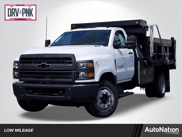 2019 Silverado Medium Duty Regular Cab DRW 4x2, Godwin Dump Body #KH840729 - photo 1