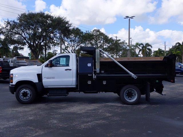 2019 Silverado Medium Duty Regular Cab DRW 4x2,  Godwin 300U Dump Body #KH840729 - photo 2