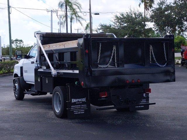 2019 Silverado Medium Duty Regular Cab DRW 4x2,  Godwin 300U Dump Body #KH840729 - photo 7