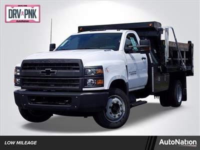 2019 Silverado Medium Duty Regular Cab DRW 4x2, Godwin 300U Dump Body #KH840729 - photo 1