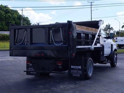 2019 Silverado Medium Duty Regular Cab DRW 4x2,  Godwin 300U Dump Body #KH840729 - photo 3