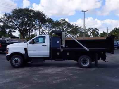 2019 Chevrolet Silverado Medium Duty Regular Cab DRW 4x2, Godwin 300U Dump Body #KH840729 - photo 4
