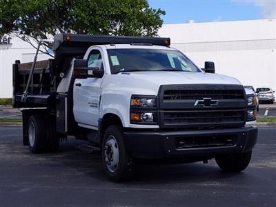 2019 Silverado Medium Duty Regular Cab DRW 4x2,  Godwin 300U Dump Body #KH840729 - photo 6