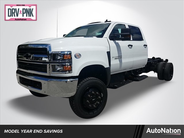 2019 Silverado Medium Duty Crew Cab DRW 4x4,  Cab Chassis #KH885796 - photo 1