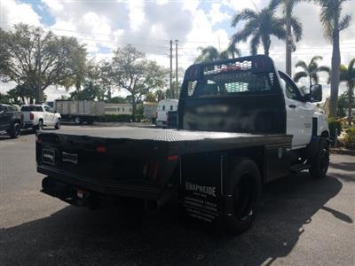 2019 Silverado Medium Duty Regular Cab DRW 4x2,  Platform Body #KH885797 - photo 3
