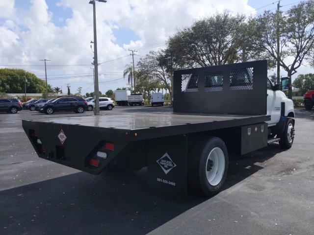 2019 Silverado Medium Duty Regular Cab DRW 4x2,  Simplified Fabricators, Inc. Stake Bed #KH886170 - photo 3
