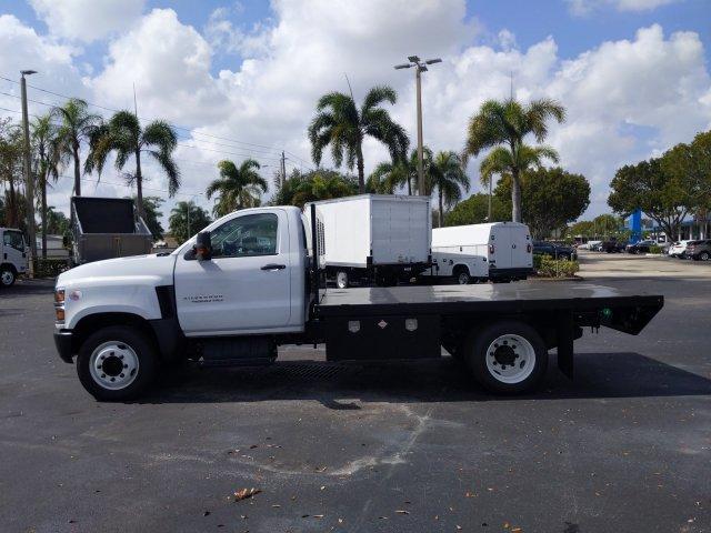2019 Silverado Medium Duty Regular Cab DRW 4x2, Simplified Fabricators, Inc. Stake Bed #KH886170 - photo 5