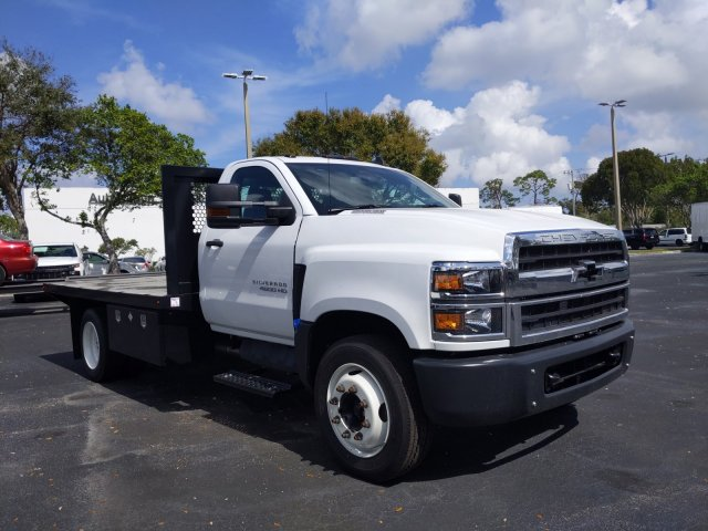 2019 Silverado Medium Duty Regular Cab DRW 4x2, Simplified Fabricators, Inc. Stake Bed #KH886170 - photo 6