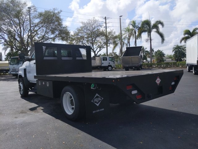 2019 Silverado Medium Duty Regular Cab DRW 4x2, Simplified Fabricators, Inc. Stake Bed #KH886170 - photo 8