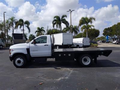 2019 Silverado Medium Duty Regular Cab DRW 4x2,  Simplified Fabricators, Inc. Stake Bed #KH886170 - photo 5