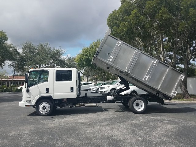 2019 LCF 4500 Crew Cab 4x2, Simplified Fabricators, Inc. Landscape Dump #KS808413 - photo 15
